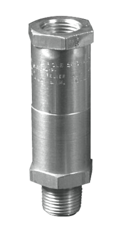 5100-Series Relief Valves (INLINE configuration), 10-2400 PSIG
