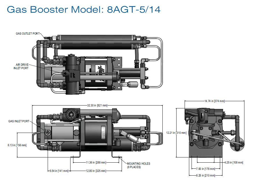 52624 Oxygen Gas Booster