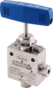 High Pressure Needle Valves (up to 150,000 PSIG)