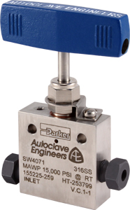 Low Pressure Needle Valves (up to 15,000 PSIG)