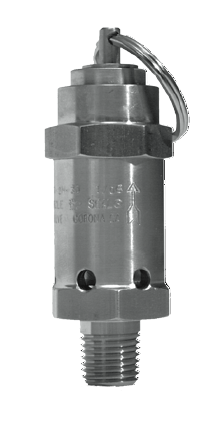 5100-Series Relief Valves (POPOFF configuration with Manual Override), 10-2400 PSIG